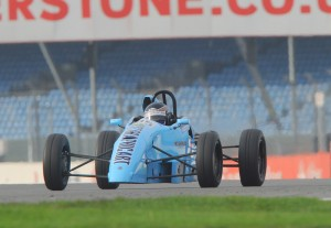 Stuart Thorburn in action at Silverstone